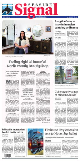 Seaside Signal Herald Latest e-edition
